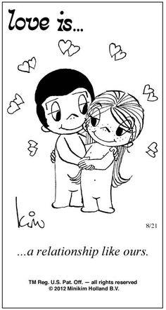 Love is. Number one website for Love Is. Funny Love is. pictures and love quotes. Love is. comic strips created by Kim Casali, conceived by and drawn by Bill Asprey. Everyday with a new Love Is. Love Is Comic, Love Is Cartoon, Love Of My Life, In This World, My Love, Love My Husband, Love Him, Amazing Husband, Love Phrases