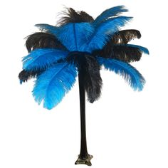 "Wholesale Event Solutions - ""Turquoise"" Ostrich Feather Centerpiece, $54.96 (http://www.eventswholesale.com/turquoise-ostrich-feather-centerpiece/)"
