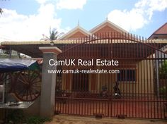 $500 Per month - An elegant house for rent is situated in Svay Dangkum commune, Siem Reap town…