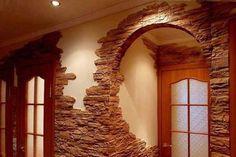 27 Rusztikus kőburkolat ötletek - MindenegybenBlog