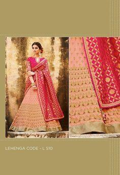 Embroidered Lehenga & Tussar Silk Blouse..@ fashionsbyindia.com #designs #indian #womens #style #cloths #stylish #casual #fashionsbyindia #punjabi #suits #wedding #chic #elegance #beauty #outfits #fantasy #embroidered #dress #PakistaniFashion #Fashion #Longsuit #FloralEmbroidery #Fashionista #Fashion2015 #IndianWear #WeddingWear #Bridesmaid #BridalWear #PartyWear #Occasion #OnlineShopping #salwar #kameez #lehenga Party Wear Lehenga, Georgette Fabric, Wedding Wear, Indian Wear, Strapless Dress, Chiffon, Punjabi Suits, Silk, Stylish