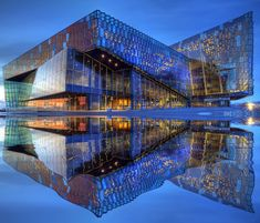 Harpa - Reykjavík concert hall and conference centre    Georgeous!
