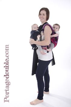 1000 images about portage en tandem tutoriels on pinterest tandem babywearing and woven wrap - Porte bebe double pour jumeaux ...