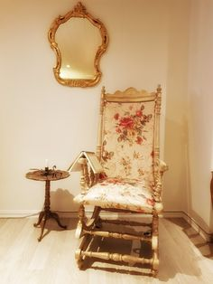 Old norwegian chair Decor, Furniture, Mirror Table, Table, Chair, Home Decor, Mirror