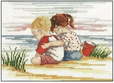 All Our Yesterdays Cross Stitch Kits are a fantastic collection by artist Faye Whittaker a gorgeous choice of cross stitch designs of bygone days and nostalgia Cross Stitch Sea, Cross Stitch For Kids, Cross Stitch Samplers, Cross Stitch Kits, Cross Stitch Charts, Cross Stitch Designs, Cross Stitching, Cross Stitch Embroidery, Cross Stitch Patterns