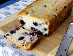 Hmmm... I have leftover buttermilk from my carrot cake, and this looks ahmazing! Blueberry Buttermilk Bread | What Megan's Making