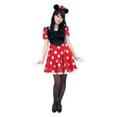 【コスプレ】 RUBIE'S(ルービーズ) DISNEY(ディズニー) コスプレ Adult Pretty Minnie(プリティー ミニー) Stdサイズ - 拡大画像