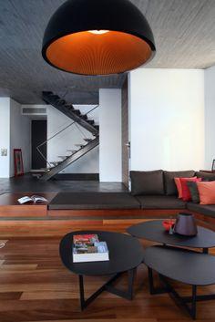 house in Athens, livingroom, design, architect Aris Giannopoulos
