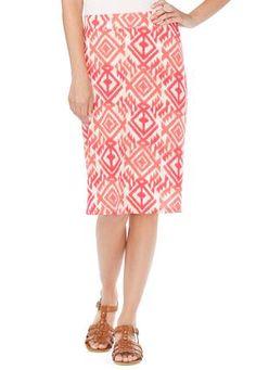 Tribal Knit Skirt