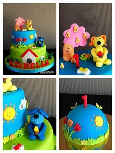 Woezel en Pip cake  Taaartjes