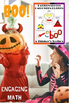 Learning Resources, Teacher Resources, Teaching Ideas, Halloween Puzzles, Halloween Patterns, Learning Tools, Fun Learning, Homework Games, Online Music Lessons