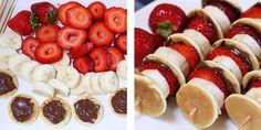 Ideas y cosas para tus fiestas infantiles: Frutas para tus fiestas