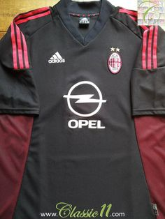 Relive AC Milan's 2002/2003 season with this vintage Adidas 3rd football shirt.