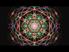 Look into the eye of the mandala.  A good video on radial symmetry.