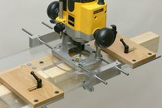 Morticing Jig with Router