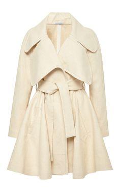Linen Coat with Oversized Lapels by J.W. Anderson - Moda Operandi