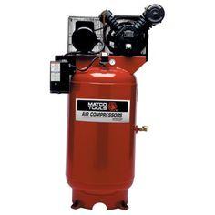 80 Gallon Air Compressor, Steel Tool Box, Compact Tractors, Air Tools, Machine Tools, Car Shop, Fire Extinguisher, Heavy Equipment, Big
