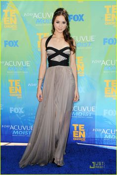 Actress Troian Bellisario wore a Maria Lucia Hohan Dress to the 2011 Teen Choice Awards held at the Gibson Amphitheatre on 7 August 2011 in Universal City, California - buy this #dress with http://dressapp.tv