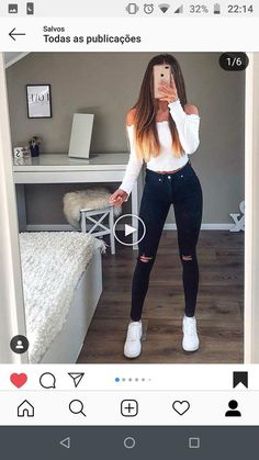 – Outfit World – All Outfit Ideas For You Teenager Outfits, College Outfits, School Outfits, Tumblr Outfits, Mode Outfits, Teen Fashion Outfits, Outfits For Teens, Cute Fall Outfits, Stylish Outfits