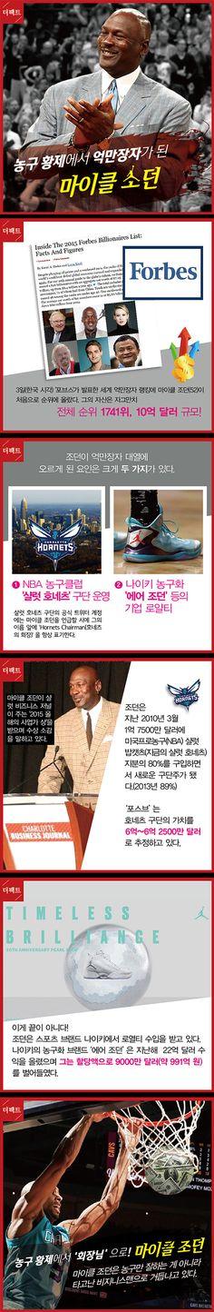 [TF카드뉴스] '억만장자'로 점프한 '농구황제' 마이클 조던