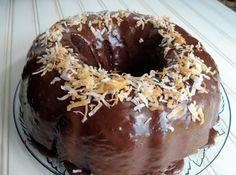 Chocolate Coconut Bundt Cake