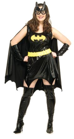 batman costumes for preteen girls | ... Bat Girl ( Batman ) Plus Womans Costume Halloween | Costumes Garage