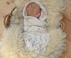Organic Baby Cocoon Vanilla Wave Pattern by broodbaby on Etsy, $135.00  Pricey-side, but absolutely adorable!!!