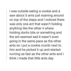 This is the cutest story I've ever heard of