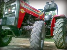 A #MasseyFerguson  245 DI #tractor  by #TAFE  is a smart piece of fine machinery but check out this #massey  shared by a fan which has been modified with speakers and fog lamps. Talk about character!  Have you shared your pictures of tractors with us? If not, what are you waiting for! This weekend click a picture of you and your tractor and post it to TAFE's profile.  Have a great weekend!