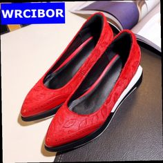 49.92$  Watch now - http://alif5w.worldwells.pw/go.php?t=32787955982 - 2017 Women Casual shoes fashion Horsehair women pumps high heels platform wedges shoes genuine leather woman leisure moccasins 49.92$