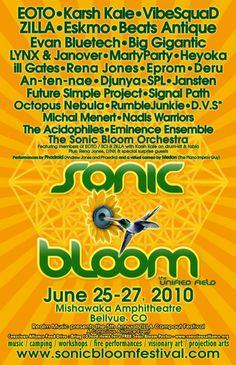 Sonic Bloom 2010