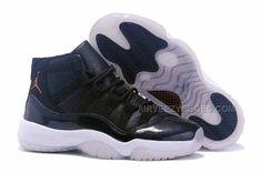 "separation shoes 173fe 626a5 GIRLS AIR JORDAN 11 (XI) GS ""72-10″ BLACK-WHITE"