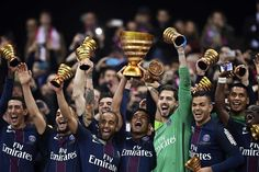 Updated CESTParis St Germain thrashed Monaco in the French League Cup final on Saturday to lift the trophy for the fourth year in a Psg, Stockholm, French League, Football Match, Neymar, Monaco, Club, Paris Saint, Saint Germain