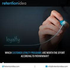 #Customer_loyalty_programs are an important part of the retention strategy of any business.