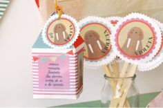 www.facebook.com/ku.pa.108/  1st birthday decoration  posters printed on canvas  pins, houses souvenirs  toppeting muffins  and love