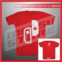 Kaos Nintendo Switch Kaos Game Kaos Distro Merah Metsu Store