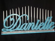 Sweet 16 Bat Mitzvah Candle Lighting Board by NameWithFlame, $214.00