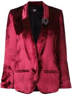 THE KOOPLES Jewelled Brooch Blazer. #thekooples #cloth #blazer