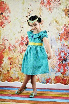 Jasmine Dress Disney Princess, Aladdin Disney Inspired Dress, Princess Dress Up, Girls Costume on Etsy, $44.00