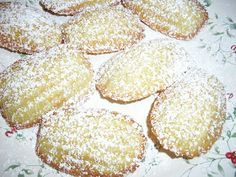 Flavors by Four: Christmas Cookie # 8 - Brown Butter Madelines