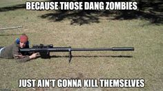Long Distance Zombie Assault Rifle