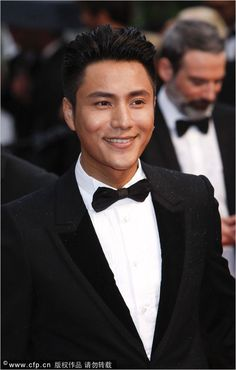 Chinese actor Chen Kun on the red carpet at the 66th Cannes Film Festival in Cannes, France, May 15 2013.