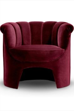 The Temple of Hera is one of the most magnificent examples of iconic Greek architecture. Fully upholstered in cotton velvet, HERA Accent Chair embodies this magnificence. This channel-tufted chair is an exquisite example of chair design and will instantly transform a modern living room set.  #livingroomdesign #contemporarylivingrooms #modernlivingrooms #classiclivingrooms #mid-centurylivingrooms #eclecticlivingrooms