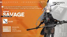 Arknights_EN (@ArknightsEN) / Twitter Custom Screens, Gaming Banner, Game Ui Design, Ui Design Inspiration, Game Icon, Female Character Design, Anime Neko, Motogp, Sewing Tips