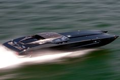Inspired by the Corvette ZR1, this speedboat even has a Corvette dashboard with working gauges. And like a real 'vette, it's no performance slouch with a pair of Mercury 1350HP twin-turbo engines.