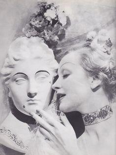 Marlene Dietrich by Cecil Beaton, 1932.