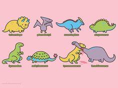 so cute! #cute #dinosaurs