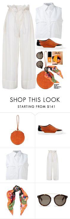 """orange fresh"" by johanna-dn on Polyvore featuring Hunting Season, 3.1 Phillip Lim, KIMEM, STELLA McCARTNEY, Valentino and JINsoon"