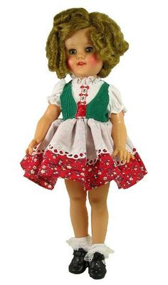 """15"""" Heidi Styled Doll Dress   Vee's Victorians Doll Clothes"""