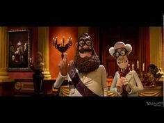 "Aardman Animation, the makers of Wallace and Gromit, is putting the finishing touches on ""The Pirates! Band of Misfits"","